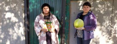 Прихожане храмов Грайворонского благочиния собрали для нуждающихся продуктовые подарки