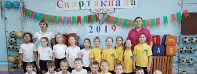 Команда православного детского сада «Рождественский» вышла в финал Малой Спартакиады среди белгородских малышей