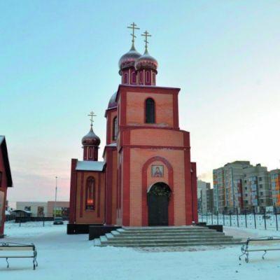 Храм в честь иконы Божией Матери «Семистрельная» в Дубовом