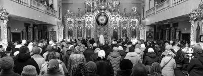 Митрополит Белгородский совершил чтение канона в храме Почаевской иконы Божией Матери и храме святых мучениц Веры, Надежды, Любови и матери их Софии в Белгороде
