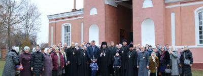 Епископ Губкинский поздравил с престольным праздником Красный Куток