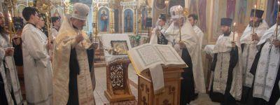 В белгородских храмах прошли Чтения Царских часов