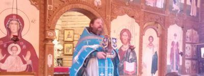 Православные гимназисты из Старого Оскола пришли в храм на литургию в честь праздника