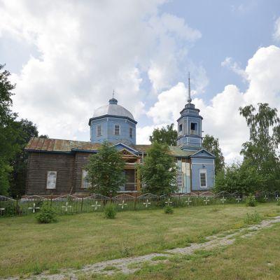 Храм Святителя Николая Чудотворца в селе  Коньшино