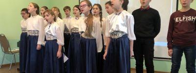 Праздничный концерт представили воспитанники православного детского центра в Губкине
