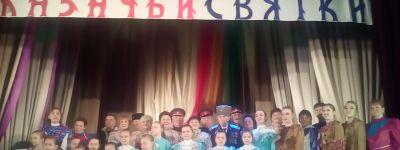 Первый казачий фестиваль «Казачьи святки» провели в Солдатском
