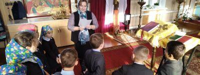 О житие Иоанна Златоуста рассказали второклассникам в Гостищево