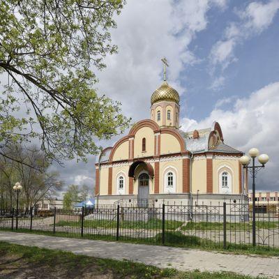 Храм Святителя Николая Чудотворца в селе Купино