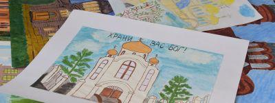 122 работы представили в Старом Осколе на конкурс рисунков «Ручейки памяти», посвящённый новомученикам  Российским