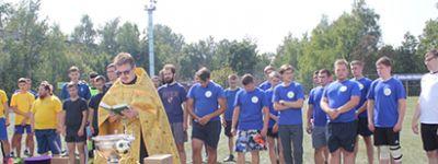 Команда Белгородской семинарии сыграла на футбольном турнире команд священников в Орле