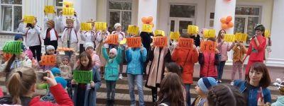Команда «Доброхот» православного детского центра преодолела все творческие, спортивные и интеллектуальные препятствия в ходе квеста в Губкине