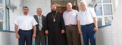 Делегация из Смоленской области посетила храм в селе Подольхи