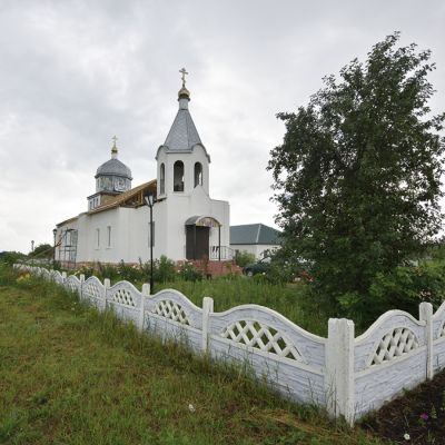 Храм Сошествия Святого Духа в селе Камызино
