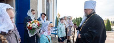 Митрополит Белгородский совершил Божественную литургию в Успенском соборе в Чернянке и освятил новую часовню в Прилепах