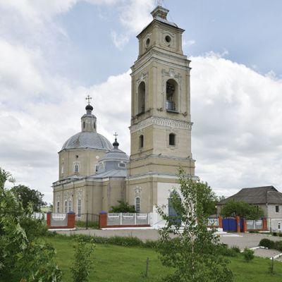 Храм Успения Пресвятой Богородицы в селе Ливенка