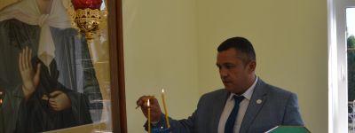 Новую часовню на Комбинате КМАруда освятил епископ Губкинский