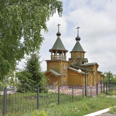 Свято-Троицкий храм в селе Малотроицкое