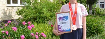 Семиклассница старооскольской православной гимназии стала вице-чемпионом «Оскольского полумарафона»