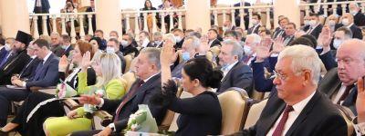 Епископ Губкинский побывал на первом заседании Белгородской областной Думы нового созыва