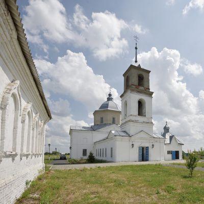 Храм Владимирской иконы Божией Матери в селе Старое Уколово