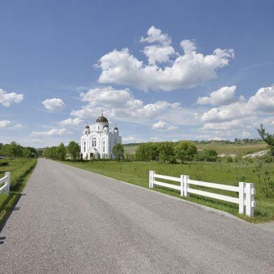 Храм Преподобного Сергия Радонежского в селе Малобыково