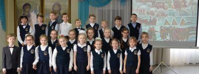 Поэтический вечер «Зимняя сказка» прошёл в православной гимназии в Старом Осколе