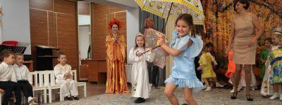 Ребята из детского сада «Рождественский» поздравили друг друга с православным праздником