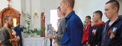 Молебен для призывников прошёл в Бирюче