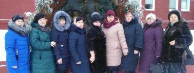 Педагоги Смородинской средней школы совершили паломническое путешествие в Тихвинский женский монастырь