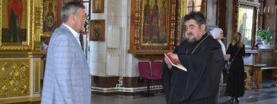 Члены общественного совета проекта «Историческая память» побывали в Спасо-Преображенском соборе в Губкине