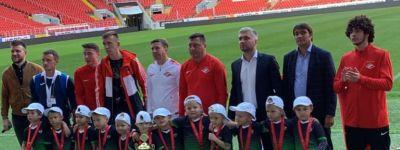 Ребята из белгородского православного детского сада завоевали серебряные медали международного кубка по футболу