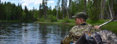 Православная молодежь из Губкина совершила сплав по рекам золотого русского Поморья