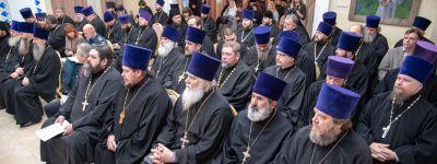 Состоялось заседание Коллегии Белгородской митрополии