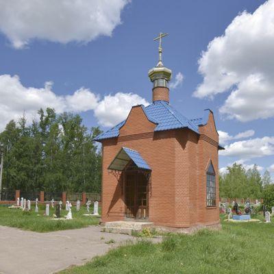 Часовня святителя Иоасафа Белгородского в посёлке Ровеньки. Часовня великомученика и целителя Пантелеимона
