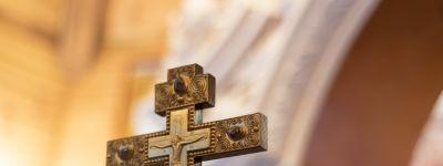 В праздник обрезания Господня митрополит Белгородский совершил литургию в Богоявленском домовом храме