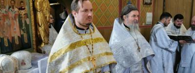 Клирики Валуйской епархии приняли участие в отпевании настоятеля Александро-Невского собора