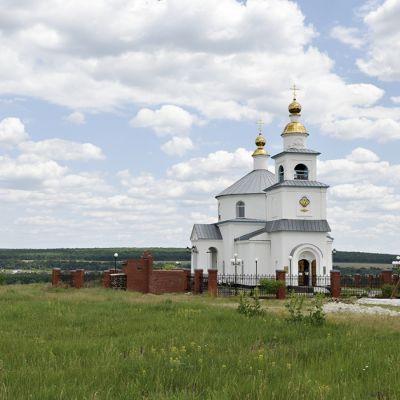 Храм Покрова Пресвятой Богородицы в селе Шопино