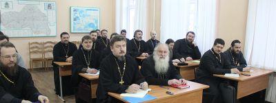 Курсы повышения квалификации священников возобновили свою работу в Белгородской семинарии