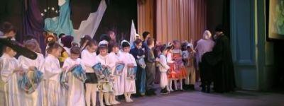 Центр духовного просвещения во имя Иоанна Златоуста показал в валуйском Соцгородке концертную программу «Рождественские святки»