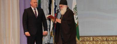 Ракитянский благочинный приветствовал участников мероприятия «90 лет на пути созидания»