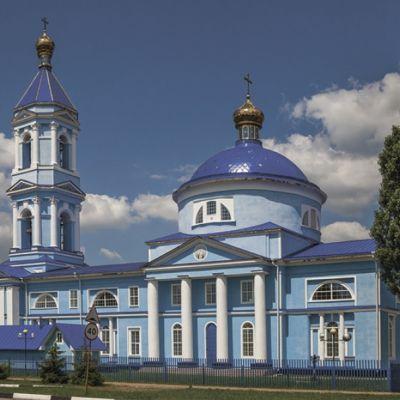 Храм Иконы Божией матери «Знамение» в посёлке Уразово