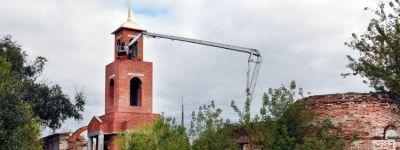 Реконструкцию Воскресенской церкви XVIII века ведут в Маломихайловке