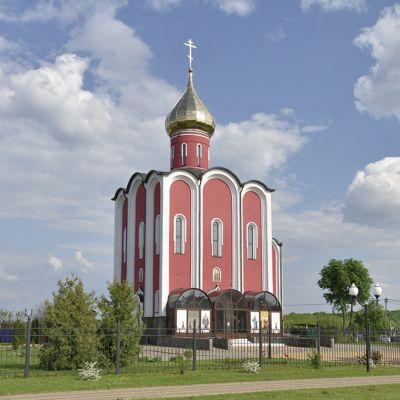 Храм бессребреников Космы и Дамиана в посёлке Красная Яруга