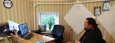 Грайворонский благочинный принял участие в онлайн-совещании Губкинской епархии