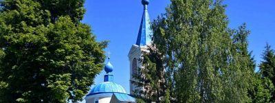 Епископ Губкинский совершил всенощное бдение в Вознесенском храме села Радьковка