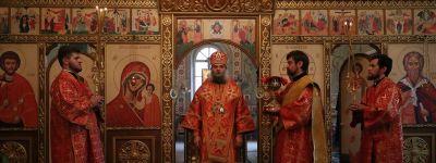 Престольный праздник в Ильин день отметили в селе Красное