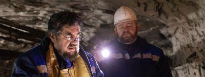 Трёхкилометровый крестный ход в 300 метрах под землёй совершили в шахте под Губкином