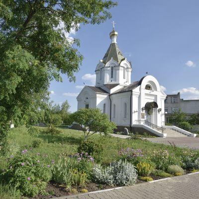 Храм Богоявления Господня в селе Беломестное