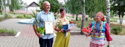 Три супружеские пары из Красненского благочиния получили медали «За любовь и верность»