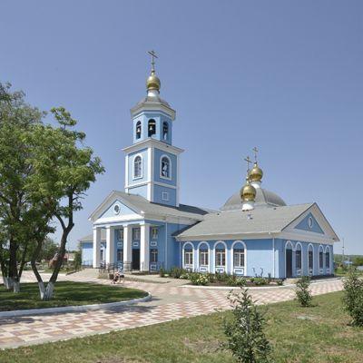 Храм Благовещения Пресвятой Богородицы в селе Советское